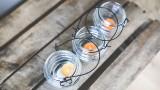 kaboompics.com_Three candleholders with tealights